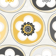 Fabric - Crazy for Daisy Dot Sunshine