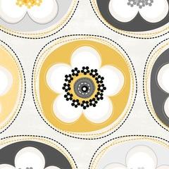 Fabric - Crazy for Daisy Dot Sunshine