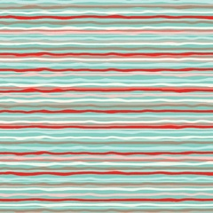 Fabric - Hoot Stripe Coral