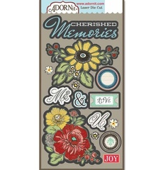 Memories Laser Die Cut