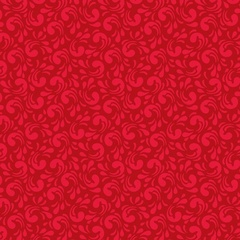 Fabric - Twirl Red