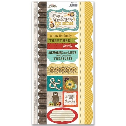 Splendor Border Sticker