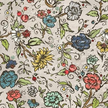 Fabric - Chamberry Garden Tan