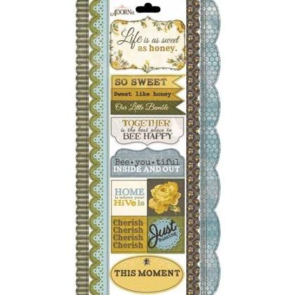 Bee-you-tiful Border Sticker