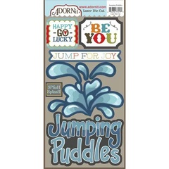 Jumping Puddles Die Cut