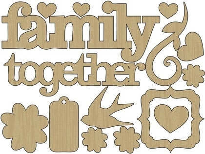 Wood Shapes - Family