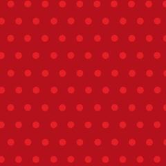 Fabric-Simple Dots Red