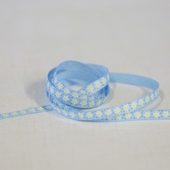 Ribbon - Daisy Row Lt. Blue