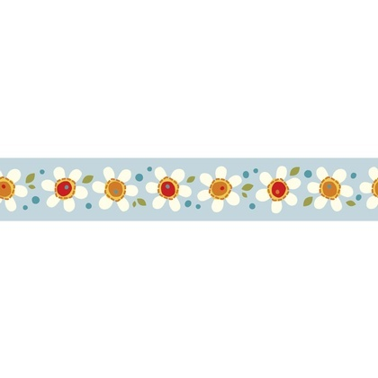 Ribbon - Daisy Pop Blue