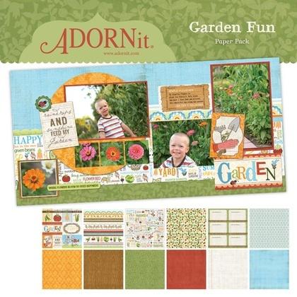Garden Fun Paper Pack