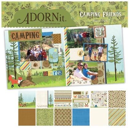 Camping Fun Paper Pack