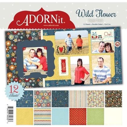 Wildflower Paper Pack