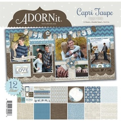Capri Taupe Paper Pack