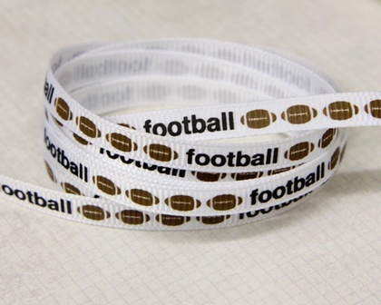 Ribbon - Football Stripe