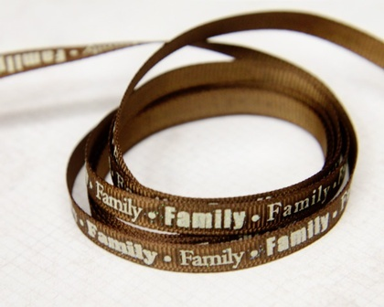 Ribbon - Family
