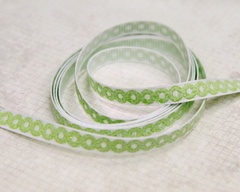 Ribbon - Dot-O Green