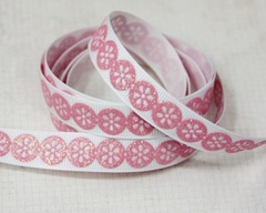 Ribbon - Daisy Dots Pink
