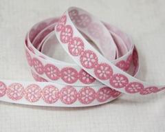 Ribbon - Daisy Dots Pink