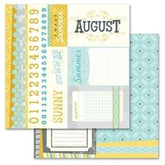 August Cut Apart 12x12