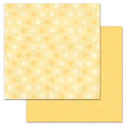 Yellow Pixie Dots 12x12