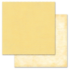 Yellow Chevron 12x12