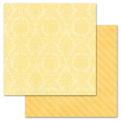 Yellow Damask 12x12