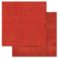 Red Chevron 12x12