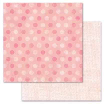 Pink Pixie Dots 12x12