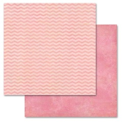 Pink Chevron 12x12