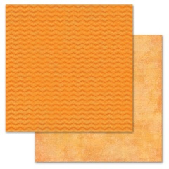 Orange Chevron 12x12
