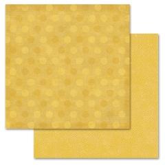 Mustard Pixie Dots 12x12