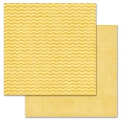 Mustard Chevron 12x12