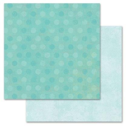 Mint Pixie Dots 12x12