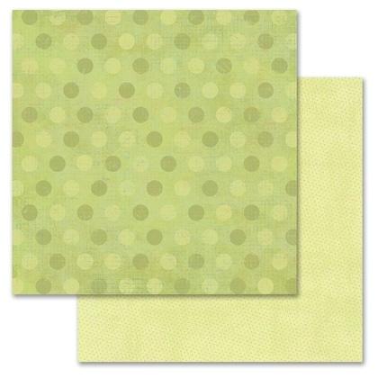Green Pixie Dots 12x12