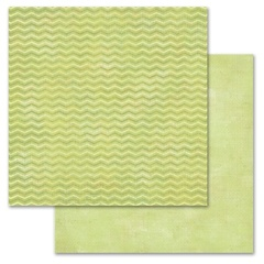 Green Chevron 12x12