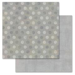Gray Pixie Dots 12x12