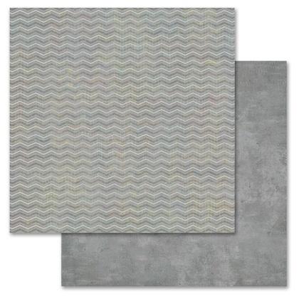 Gray Chevron 12x12