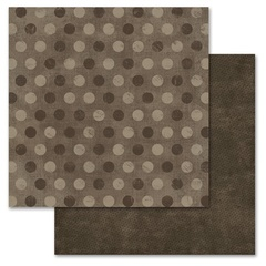 Brown Pixie Dots 12x12