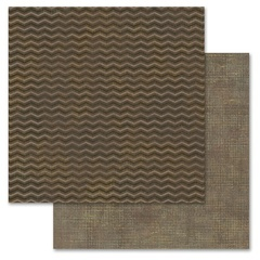 Brown Chevron 12x12