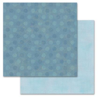 Blue Pixie Dots 12x12