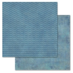 Blue Chevron 12x12