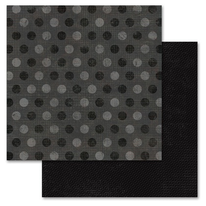 Black Pixie Dots 12x12