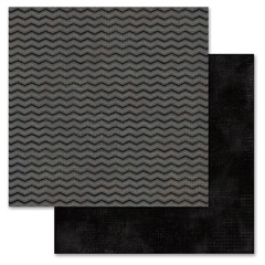 Black Chevron 12x12