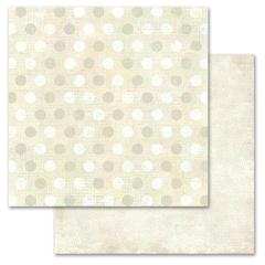 Beige Pixie Dots 12x12