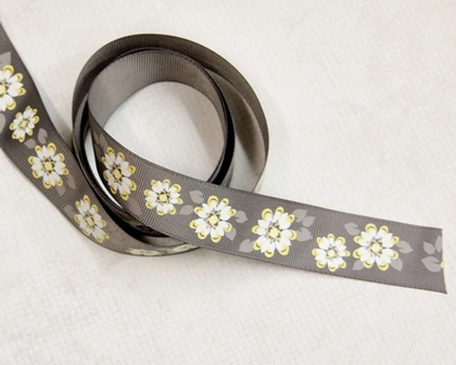 Ribbon - Yellow Blossom