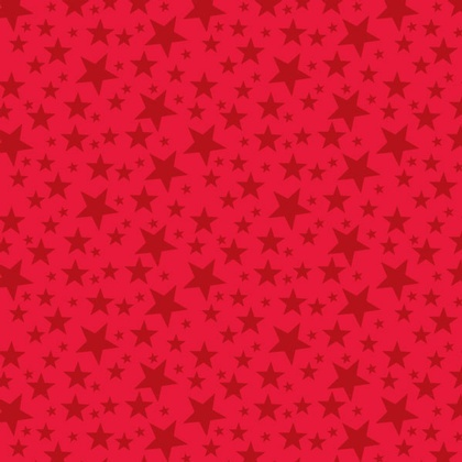 Fabric - Jumble Stars Red