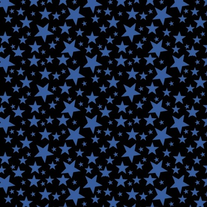 Fabric - Jumble Stars Blue