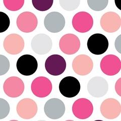 Fabric - Vintage Polka Dot Princess