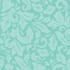 Fabric - Mint Damask