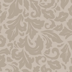 Fabric - Beige Damask